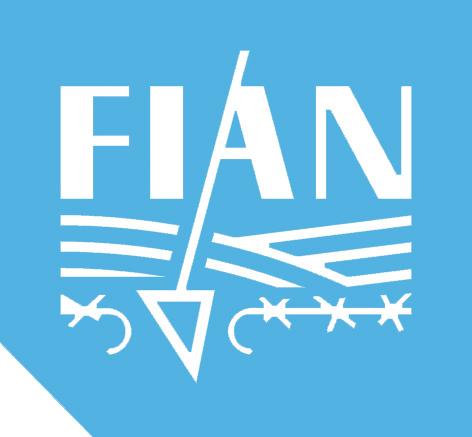 FIAN logo blue